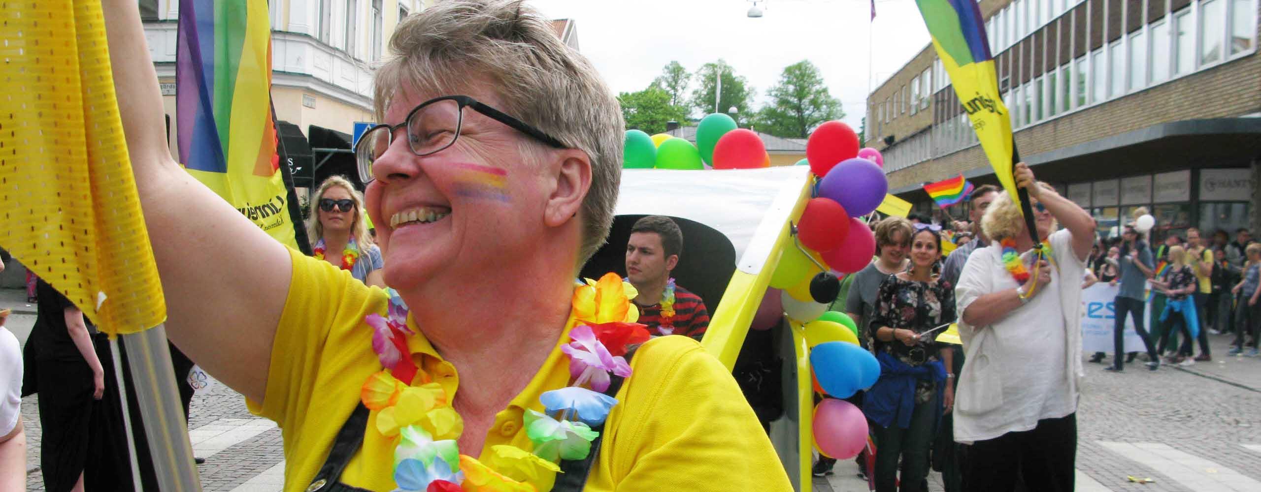 Prideparad i Växjö
